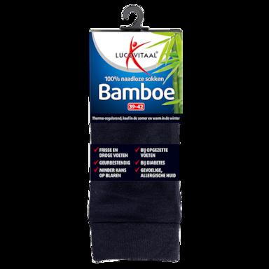 Lucovitaal Bamboe Sokken Blauw 39-42