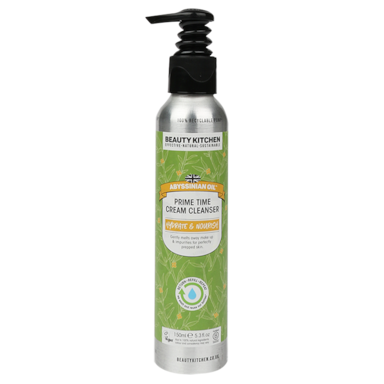Beauty Kitchen Abyssinian Oil Prime Time Cream Cleanser (150ml)