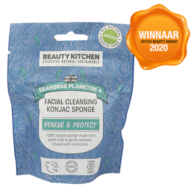 Beauty Kitchen Seahorse Plankton Facial Cleansing Konjac Spons