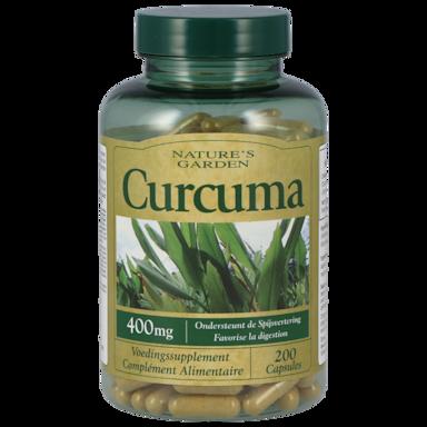 Nature's Garden Curcuma 400mg (200 Capsules)