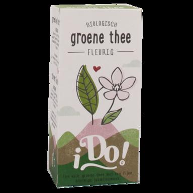 iDo! Groene Thee Fleurig Bio (20 Theezakjes)
