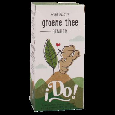 iDo! Groene Thee Gember Bio (20 Theezakjes)