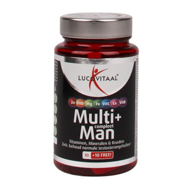 Lucovitaal Multi+ Compleet Man (40 Tabletten)