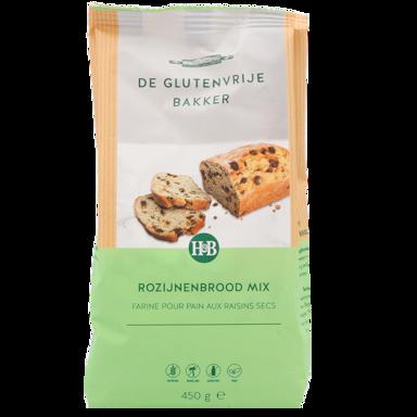 De Glutenvrije Bakker Rozijnenbrood Mix