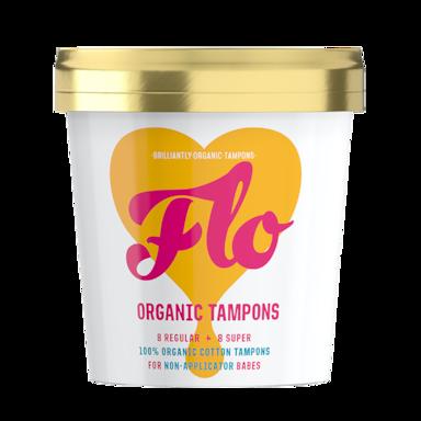 Flo Organic Tampons (16 stuks)