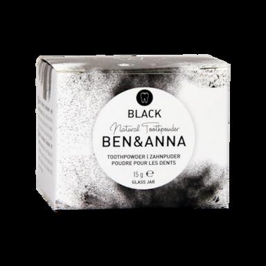 Ben & Anna Natural Whitening Tandpoeder Actieve Kool (15gr)