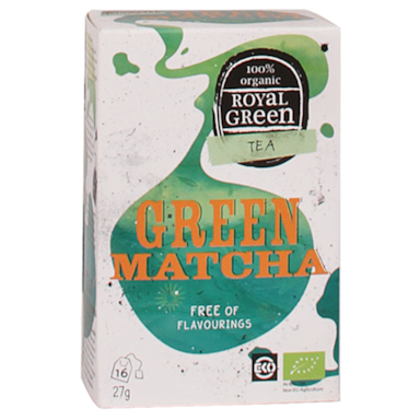 Royal Green Green Matcha Bio (16 Theezakjes)