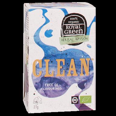 Royal Green Clean Bio (16 Theezakjes)
