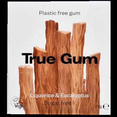 True Gum Liquorice & Eucalyptus Kauwgom