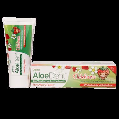 Aloe Dent Children's Kindertandpasta Strawberry (50ml)