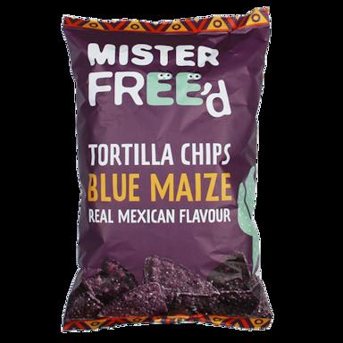 Mister Freed Tortilla Chips Blue Maize