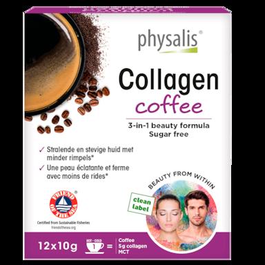 Physalis Collagen Coffee 3-in-1 Beauty Formula (12 x 10gr)