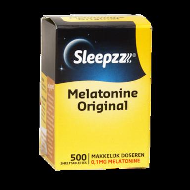 Sleepzz Melatonine Original (500 Smelttabletten)