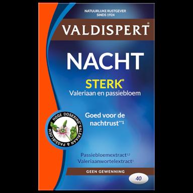 Valdispert Nacht Extra Sterk (40 Tabletten)