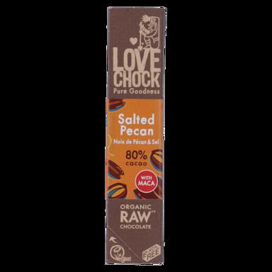 Lovechock Salted Pecan 80% Cacao Bio (40gr)