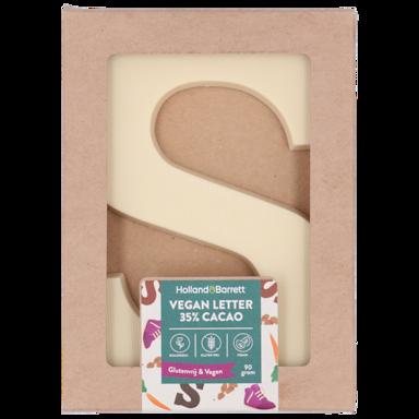 Holland & Barrett De Vegan Sint 35% Cacao Letter (100g)