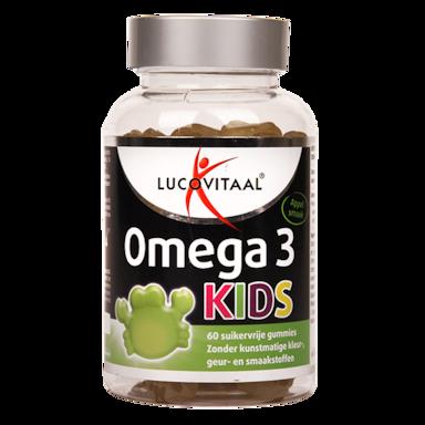 Lucovitaal Omega 3 Kids Appelsmaak (60 Gummies)