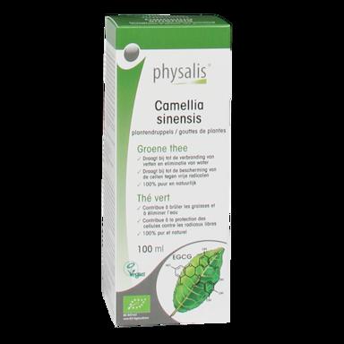 Physalis Groene Thee Bio (100ml)