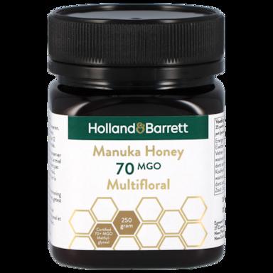 Holland & Barrett Manuka Honey Multifloral MGO 70 (250gr)