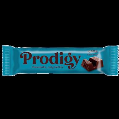 Prodigy Dark Chocolate with Sea Salt Bar (35gr)