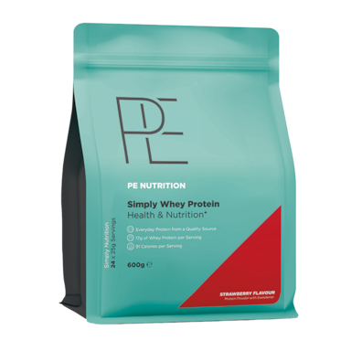 PE Nutrition Simply Whey Protein Strawberry (600gr)