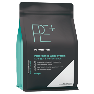 PE Nutrition Performance Whey Protein Unflavoured (900gr)