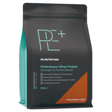 PE Nutrition Performance Whey Protein Salted Caramel (900gr)