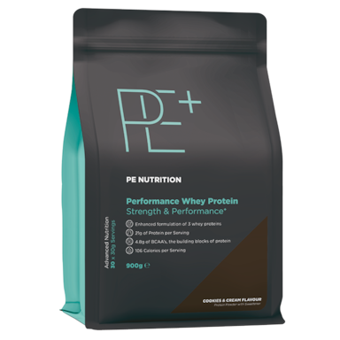 PE Nutrition Performance Whey Protein Cookies & Cream (900gr)