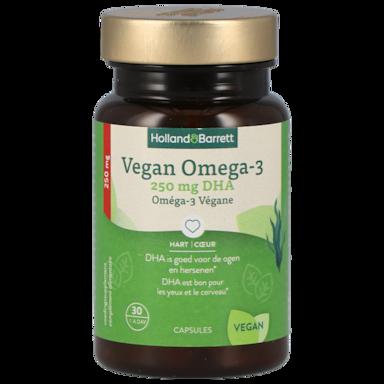 Holland & Barrett Vegan Omega-3 met DHA (30 Capsules)