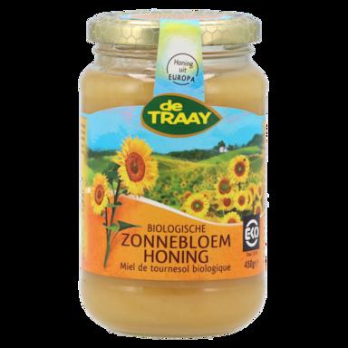 De Traay Biologische Zonnebloem Honing (450 gram)