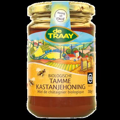 De Traay Biologische Tamme Kastanjehoning (350 gram)