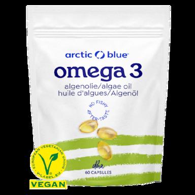 Arctic Blue Oméga 3 huile d'algue (60 capsules)