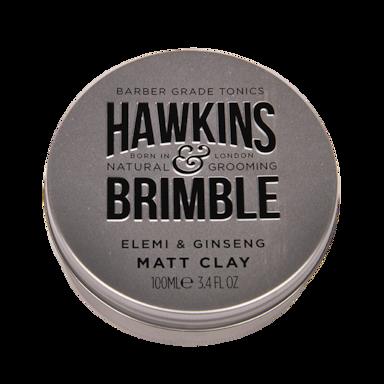 Hawkins & Brimble Pommade d'argile matte pour cheveux (100 ml)