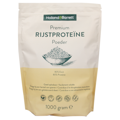 Holland & Barrett Poudre de protéines de riz premium (1000 g)