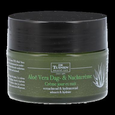 De Tuinen Aloë Vera Dag- & Nachtcrème (50ml)