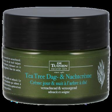 De Tuinen Tea Tree Dag- & Nachtcrème (50ml)