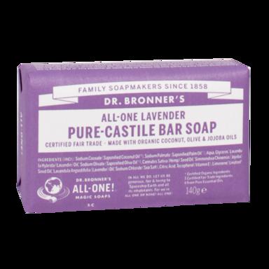 Dr Bronner's Lavendel Zeep (140gr)
