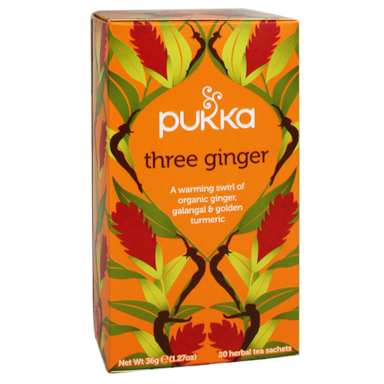 Pukka Three Ginger Bio (20 Theezakjes)