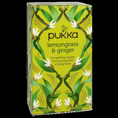 Pukka Lemongrass Ginger Bio (20 Theezakjes)