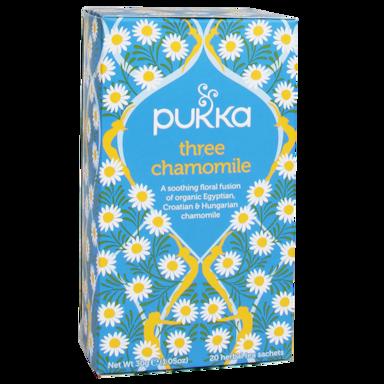 Pukka Three Chamomile Bio (20 Theezakjes)