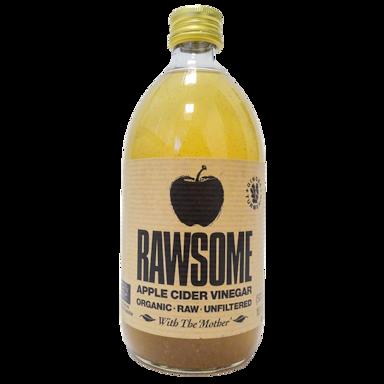 Rawsome Apple Cider Vinegar Kurkuma & Gember Bio (500ml)