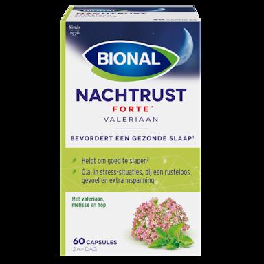 Bional Nachtrust Forte Valeriaan (60 Capsules)