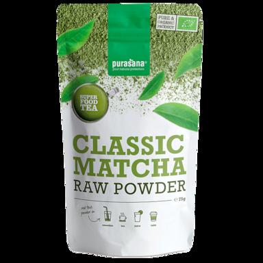 Purasana Classic Matcha Raw Powder (75 g)
