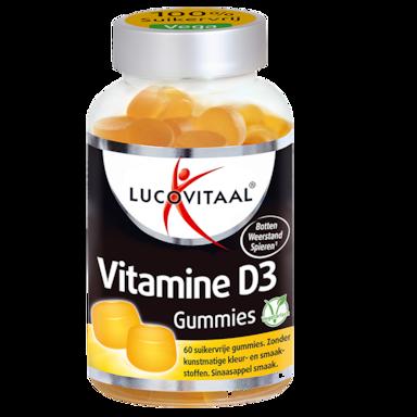 Lucovitaal Vitamine D3 (60 gommes)