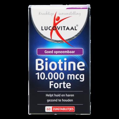 Lucovitaal Biotine Forte, 10.000mcg (60 Zuigtabletten)