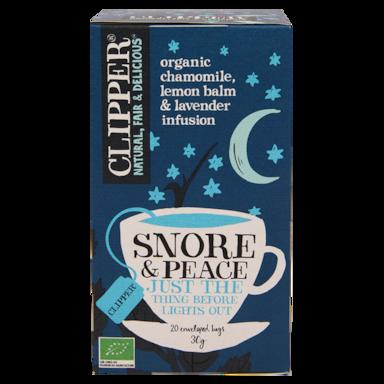 Clipper Snore & Peace Bio (20 Theezakjes)