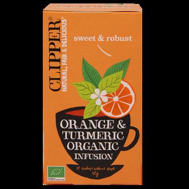 Clipper Orange & Tumeric Organic Infusion Bio (20 Theezakjes)