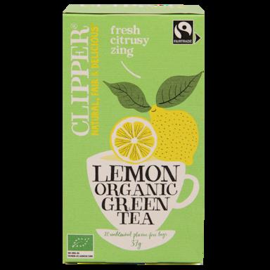 Clipper Lemon Organic Green Tea Bio (20 Theezakjes)