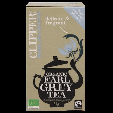 Clipper Organic Earl Grey Tea Bio (20 Theezakjes)
