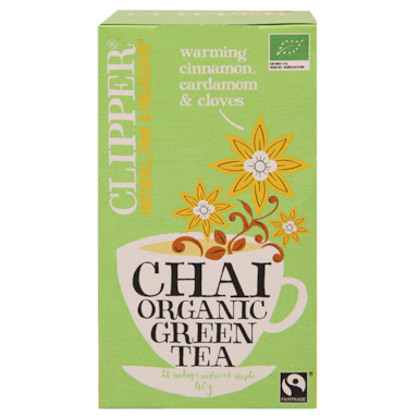 Clipper Chai Organic Green Tea Bio (20 Theezakjes)